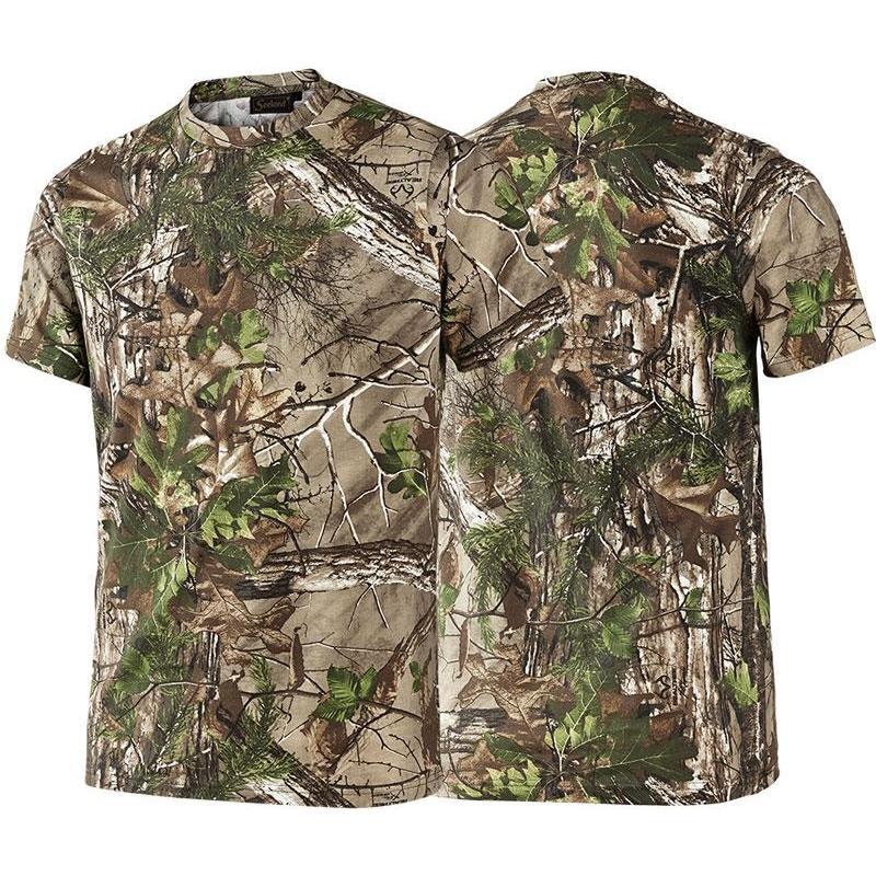 man short sleeved t shirt seeland cam camo