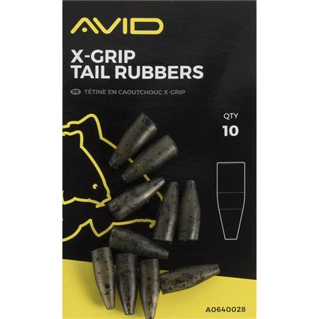 MANCHON AVID CARP X-GRIP TAIL RUBBERS