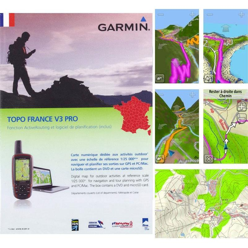 Map Topo Garmin France V3