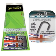 MATCH HOOK ASSEMBLES FUN FISHING MBL-A1 - PACK OF 8