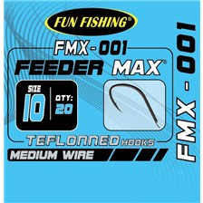 MATCH HOOK FUN FISHING FMX-001 - PACK OF 20