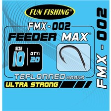 MATCH HOOK FUN FISHING FMX-002 - PACK OF 20