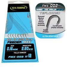 MATCHHAKEN GEBUNDEN MIT HAAREN FUN FISHING FMX-002 - 8ER PACK