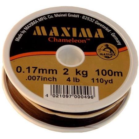 MONOFILAMENT FLY MAXIMA CHAMELEON - 100M
