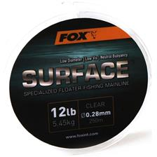 MONOFILAMENT FOX SURFACE FLOATER MAINLINE - 250M - PACK OF 5