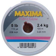 MONOFILAMENT MAXIMA FIBRE GLOW - PINK