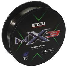 MONOFILAMENT MITCHELL MX3 LOW VIS GREEN - 300M