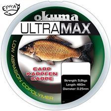 MONOFILAMENT OKUMA ULTRAMAX CARP BROWN