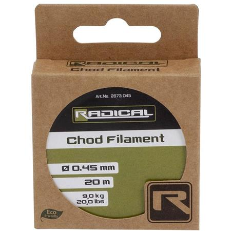 MONOFILAMENT RADICAL CHOD FILAMENT