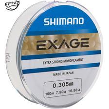 MONOFILAMENT SHIMANO EXAGE - 150M