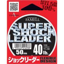 MONOFILAMENT YAMATOYO SUPER SHOCK LEADER - 50M