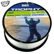 MONOFILAMENT ZEBCO TROPHY SURFCAST BEACH/STRAND