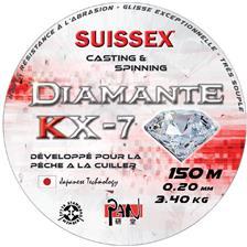 MONOFILAMENTO -150M SUISSEX PAN DIAMANTE KX-7 SPECIAL CUILLER