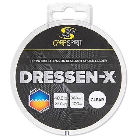 MONOFILAMENTO CARP SPIRIT DRESSEN-X ANTI ABRASION CLEAR