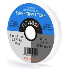 MONOFILE ANGELSCHNUR DEVAUX SUPER TIPPET TIGER