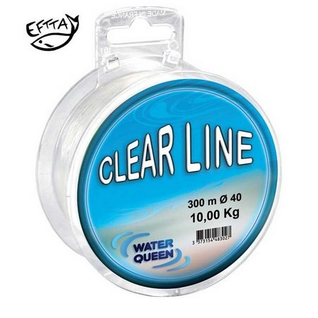 MONOFILE ANGELSCHNUR WATER QUEEN CLEAN CLEAR LINE