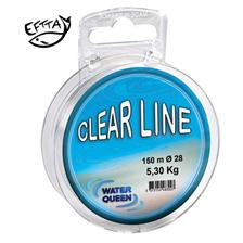 MONOFILE ANGELSCHNUR WATER QUEEN CLEAR LINE