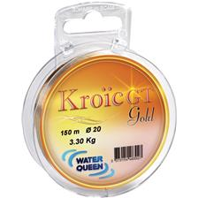 MONOFILE ANGELSCHNUR WATER QUEEN KROIC GT GOLD