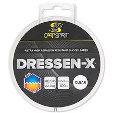 MONOFILO CARP SPIRIT DRESSEN-X ANTI ABRASION CLEAR
