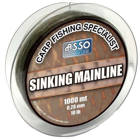 MONOFILO CARPFISHING ASSO MAINLINE SINKING 1000M
