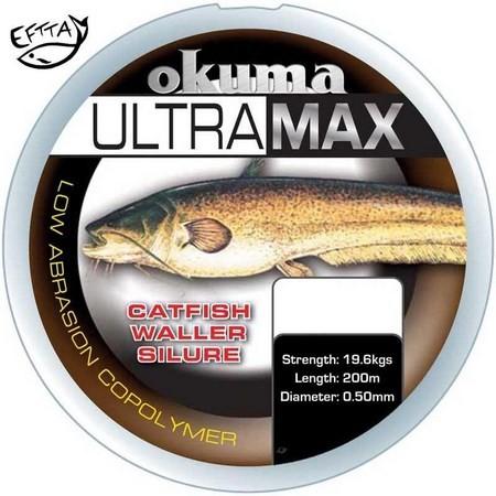 MONOFILO OKUMA ULTRAMAX CATFISH BROWN