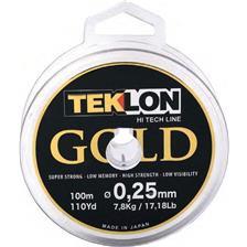 MONOFILO TEKLON GOLD - 150M