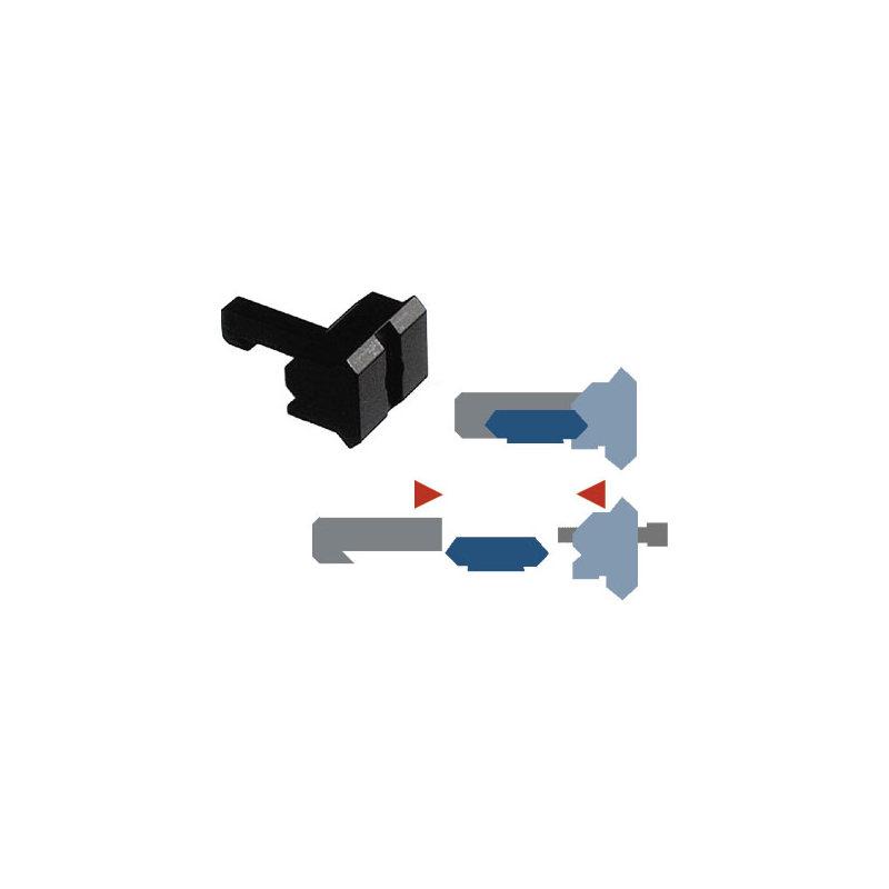 Laser Entfernungsmesser Picatinny : Montagehalterungen warne adapter rail picatinny für lampe oder laser