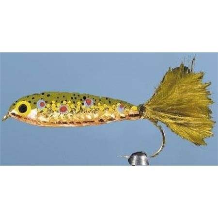 MOUCHE A BLACK BASS JMC MINNOW 1