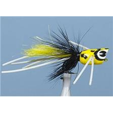 MOUCHE A BLACK BASS JMC POPPER BASS 40