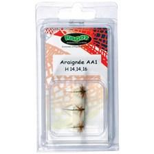 MOUCHE RAGOT ARAIGNEE AA1 - LOT DE 3