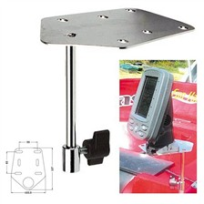 MOUNTING PLATE FOR FISHFINDER POLE PIKE'N BASS