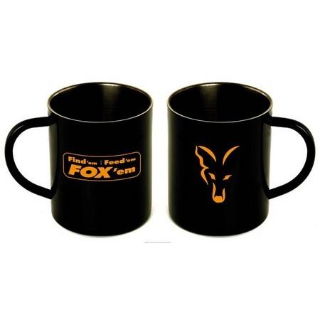 MUG INOX FOX STAINLESS STEEL MUG - PAR 6