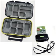 NATURAL BAIT BOX PAFEX 4 TRAP DOORS ONE TOUCH