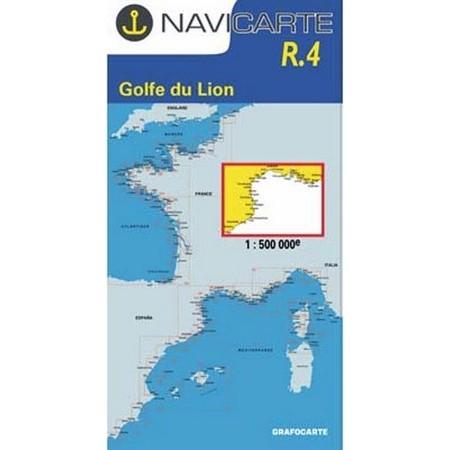 NAVIGATIE WATERKAART NAVICARTE GOLFE DU LION : MARSEILLE A BARCELONE