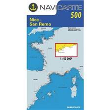 NAVIGATIE WATERKAART NAVICARTE NICE - SAN REMO