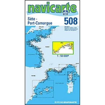 NAVIGATIE WATERKAART NAVICARTE SETE - PORT CAMARGUE