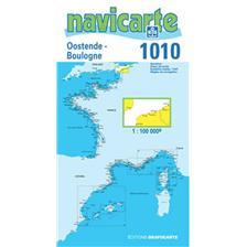 NAVIGATION MAP NAVICARTE OSTENDE - BOULOGNE - PAS DE CALAIS