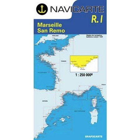 NAVIGATIONSKARTE NAVICARTE MARSEILLE SAN REMO