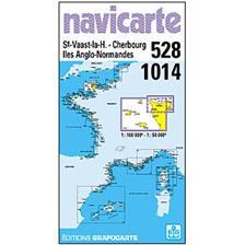 NAVIGATIONSKARTE NAVICARTE ST VAAST - ILES ANGLO/NORMANDES