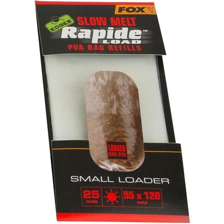NAVULLING OPLOSBARE BAGS FOX EDGES RAPIDE PVA