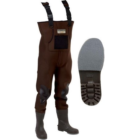 NEOPRENE WADERS GARBOLINO PRECISION PRO FELT/NOTCHED SOLES