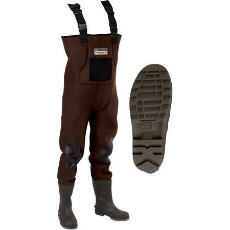 NEOPRENE WADERS GARBOLINO PRECISION PRO NOTCHED SOLES