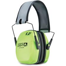 NOISE-CANCELLING HEADPHONES BILSOM LEIGHTNING L2FHV FOLDABLE HIGH VISIBILITY