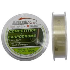 Lignes Aqualine COMPETITION ET CARPODROME GRIS CLAIR 0.250MM 5.80 KG 100M