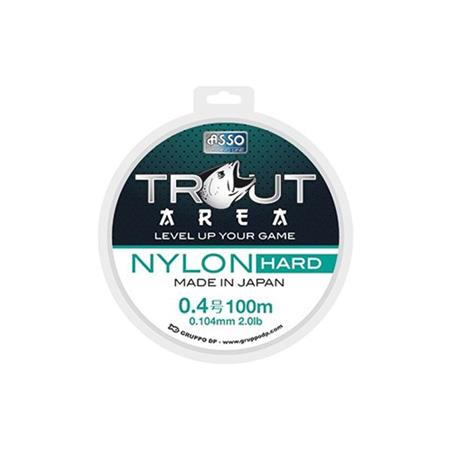 NYLON ASSO HARD - GRIS - 100M