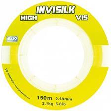 Lines Asso INVISILK FLUO JAUNE 150M 20/100