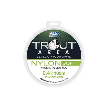 NYLON ASSO SOFT - VERT - 100M