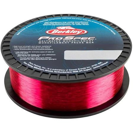 NYLON BERKLEY PRO SPEC SALTWATER MONO ROUGE - 1000M