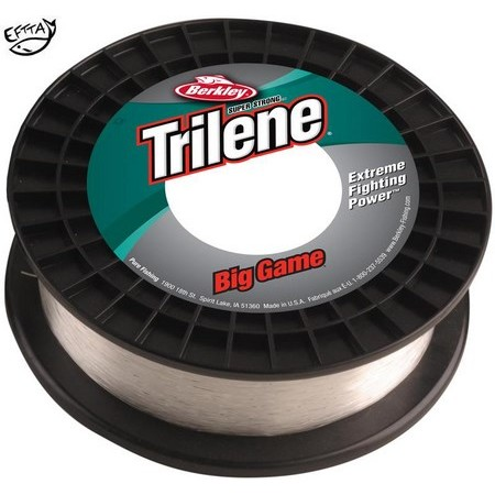 NYLON BERKLEY TRILENE BIG GAME ECONO SPOOL - CLAIR
