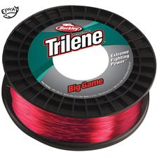 NYLON BERKLEY TRILENE BIG GAME ECONO SPOOL - ROUGE - 600M